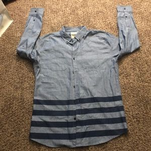 Other - Striped Dress Shirt Size Large